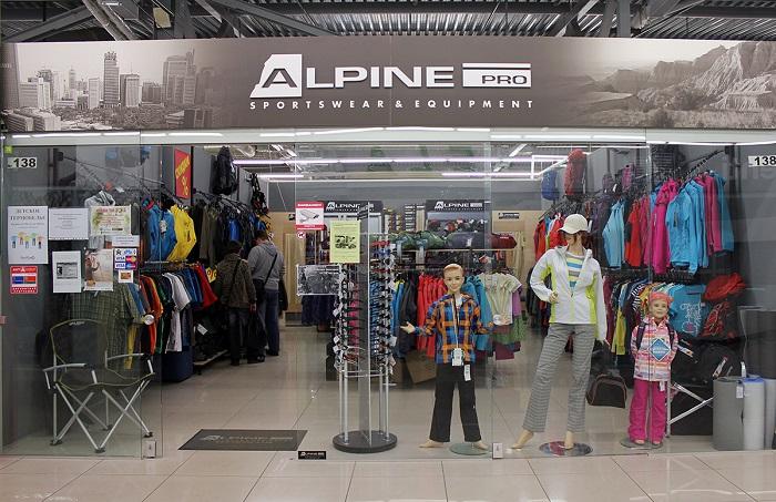 Магазин Alpine pro, Минск Уманская, 54