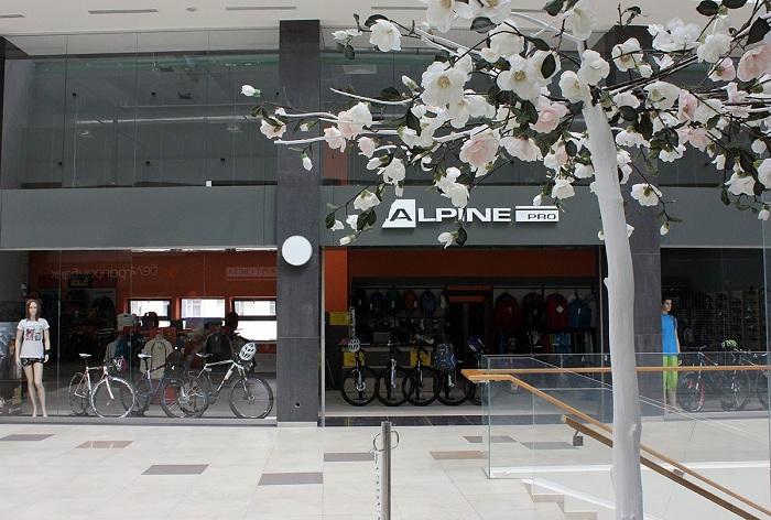 Магазин Alpine pro, Минск, Победителей 84