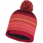 Шапка KNITTED & POLAR HAT NEPER BRIGHT PINK (Buff)