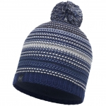 Шапка KNITTED & POLAR HAT NEPER BLUE INK (Buff)