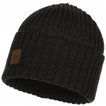 Шапка   KNITTED HAT RUTGER GRAPHITE (Buff)