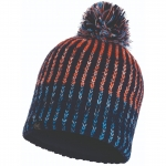 Шапка KNITTED & POLAR HAT IVER MEDIEVAL BLUE (Buff)