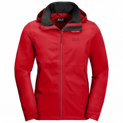 Куртка мужская EVANDALE JACKET M PEAK RED JACK WOLFSKIN