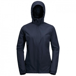 Куртка женская STORMY POINT JACKET W MIDNIGHT BLUE JACK WOLFSKIN