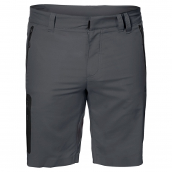 Шорты мужские ACTIVE TRACK SHORTS MEN DARK IRON JACK WOLFSKIN