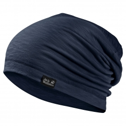 Шапка TRAVEL BEANIE NIGHT BLUE JACK WOLFSKIN