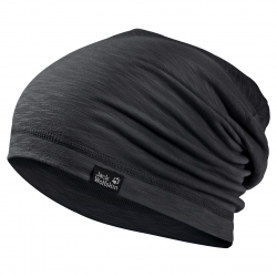 Шапка TRAVEL BEANIE BLACK JACK WOLFSKIN