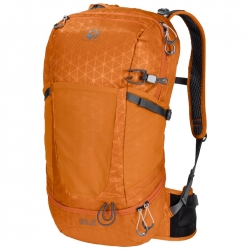 Рюкзак KINGSTON 22 PACK ORANGE GRID JACK WOLFSKIN